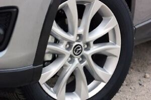 Mazda alloy wheels