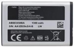 Samsung AB663450BA OEM Battery