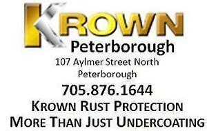 Krown Rust Control Rust Proofing - Sm/Med SUV/Minivan or 2 Door Truck