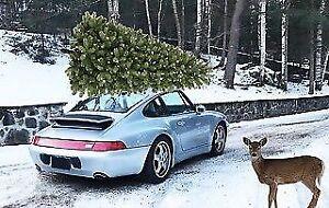 1995 PORSCHE 911 C4... pour Noël!