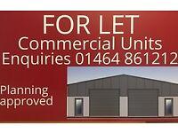 Commercial Units - Rent TBC