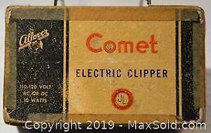 Vintage COMET ELECTRIC HAIR CLIPPER.