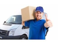 MAN AND VAN from £20 an hour , short notice available 7 days a week!