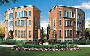 Brand New Condo-Townhome for Rent - Port UNION Location 3BR-3Bth