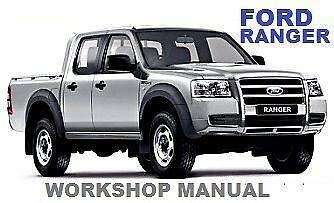 1998 ford courier workshop manual