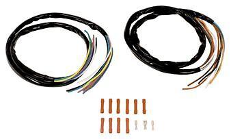 "BURLY 12/"" APE HANGER EXTENDED CABLE KIT HARLEY SPORTSTER XL 883 1200 1200C 04-06"