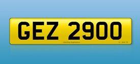 Personalised Registration GEZ 2900