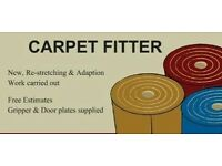 CARPET FITTER - Flooring supplied and fitted.