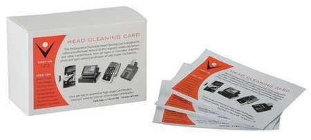 """Power Xp Cr80 Alcohol Cleaning Cards 2-1/8 X 3-3/8"""", 50Pk"""