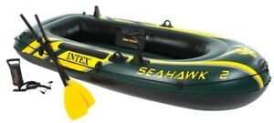 Seahawk 2 inflatable boat, accessories