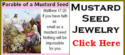 Mustard Seed Charm Jewelry Faith St