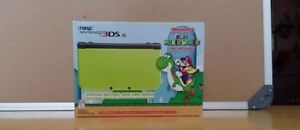 Nintendo 3DS XL Special Edition: Lime Green w/charger + games