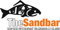 Sandbar Seafood Restaurant is looking for Servers