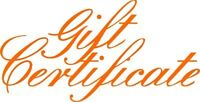 """You pay nothing """" Gift Certificates """" for Christmas"""