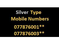 Silver Type Mobile Numbers & SIM Card *Price Drop*