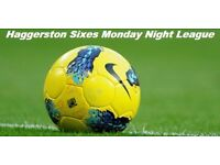 Teams needed for Monday night HACKNEY 6 a side league