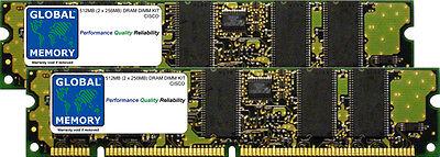 512MB 2x256MB Drachme KIT CISCO 10005/10008/10018 routeurs Pre-1