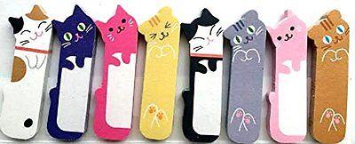 1 X 240 Sheets Cute Kitten Kitty Cat Animal Sticker Post-it Bookmark Marker Memo