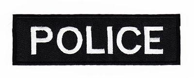 ag33 Police Polizei Security Abzeichen Aufnäher Bügelbild Patch Kostüm Flicken