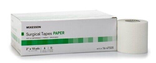 "Paper Surgical Tape, 2""x10 YDS, Mckesson 16-47320, 72/CS"