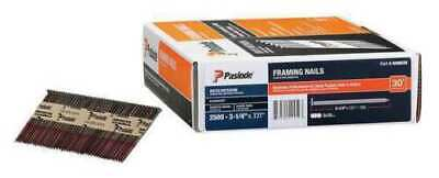 Paslode 650839 Framing Nail 3 14 In Qty 2000 Open Box
