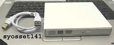 External USB CD DVD ROM Player Drive MSI Wind Netbook U100 Laptop Computer segunda mano  Embacar hacia Argentina