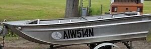 Tinny with 3 hp motor , NO TRAILER Coffs Harbour Coffs Harbour City Preview