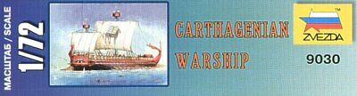 Zvezda 1/72 Carthaginian Buque de Guerra 9030