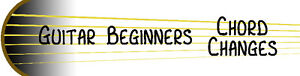 Guitar Beginners Chord Changes - on USB drive