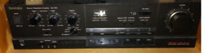 Technics Integrated Amplifier SU-V60 VC-4 - 101$ with speakers
