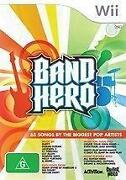 Band Hero Wii
