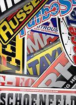 25+tool Box Nhra/nascar/off Road/truck Decals/stickers