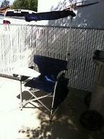 camping / back yard fold up directors chair