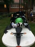 Kawasaki ZX6R 2009 OEM body parts for sale‏