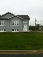 Semi-detached for rent off Shediac road