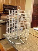 Storage Rack – Craft paint / Tole paint carousel - 160 bottles Cornwall Ontario image 3