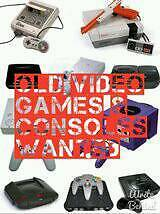 Retro video games and consoles wntd SNES N64 Megadrive PS1 GameCube Dreamcast NES etc