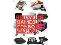 Retro video games and consoles wntd SNES N64 NES PS1 Megadrive Gamecube Dreamcast etc