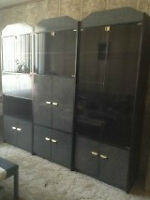 3 Piece display wall unit  perfect condition  Negotiable