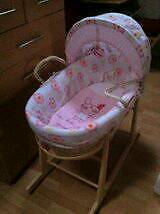 Lollipop lane moses basket and stand