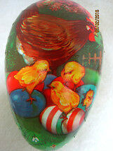 Vintage Paper Mache Easter Egg West Germany Circa 1940's