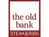 Full-Time Chef required at The Old Bank Steak & Ribs in Kemptown