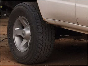 landcruiser gxl wheels Virginia Playford Area Preview