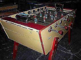Vintage Foosball/Soccer table WANTED Bulli Wollongong Area Preview