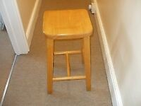 Wooden Stools, solid and heavy