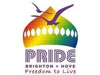 BRIGHTON GAY PRIDE TICKET