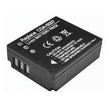 Battery For Panasonic Lumix DMC TZ1, TZ2, TZ3, TZ4, TZ5 Camera & More CGA-S007E