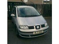 **REDUCED FOR QUICK SALE** 7 seater, good family car-MOT August 2017-no room to keep