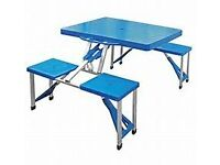 Foldaway Picnic Table and Seats