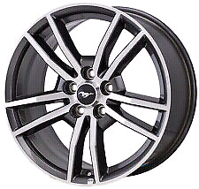 """4 used 2015 mustang factory 18"""" rims"""
